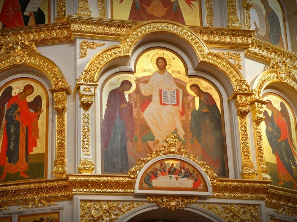 Царь Славы с Предстоящими Пресвятой Богородицей и Иоанном Крестителем.