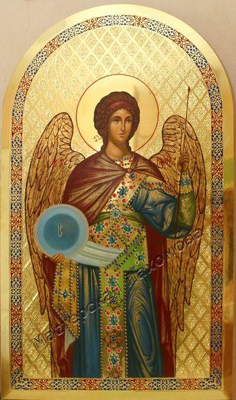 Икона местного ряда - Архангел Гавриил