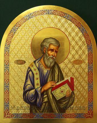 Икона написанная для иконостаса - Святой апостол и евангелист Матфей