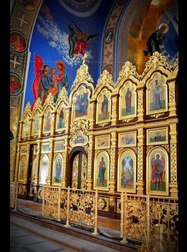Иконостас Храма Преображения Господня, г.Изобильный