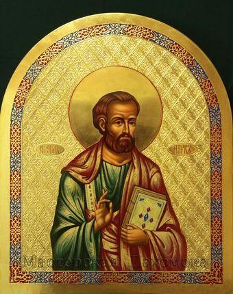 Святой апостол и евангелист Марк- икона для иконостаса написанная на заказ