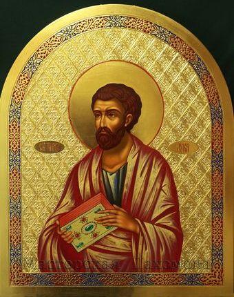 Икона Святого евангелиста Луки - икона в иконостас православного Храма