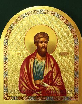 Икона третьего ряда иконостаса - Святой апостол Иаков Зеведеев!. Иконы на заказ
