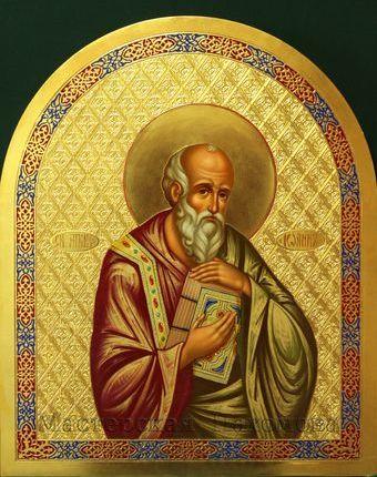 Апостол Иисуса Христа - Иоанн Богослов! Иконы апостолов на заказ
