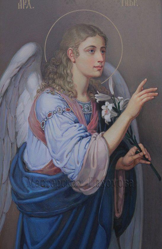 Архангел Гавриил, Благовещение. Икона царских врат