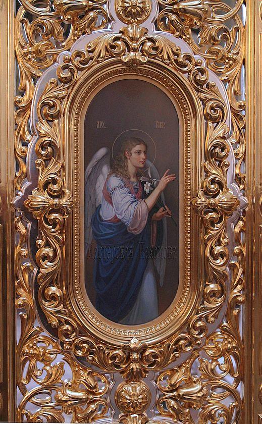 Икона Архангел Гавриил, царские врата, Казанский Собор
