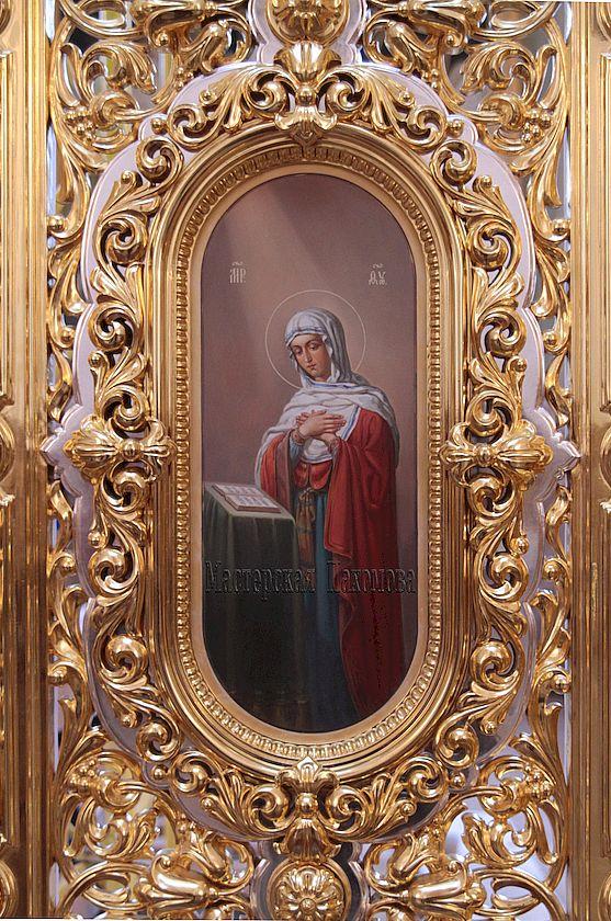 Икона Благовещенье, царские врата