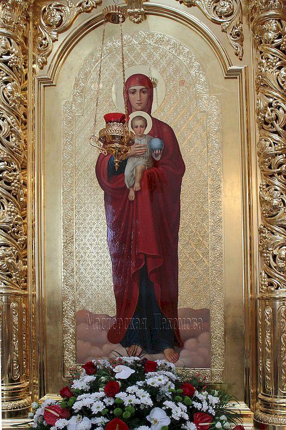 Икона Валаамской Божией Матери, Казанский Собор, г. Ставрополь