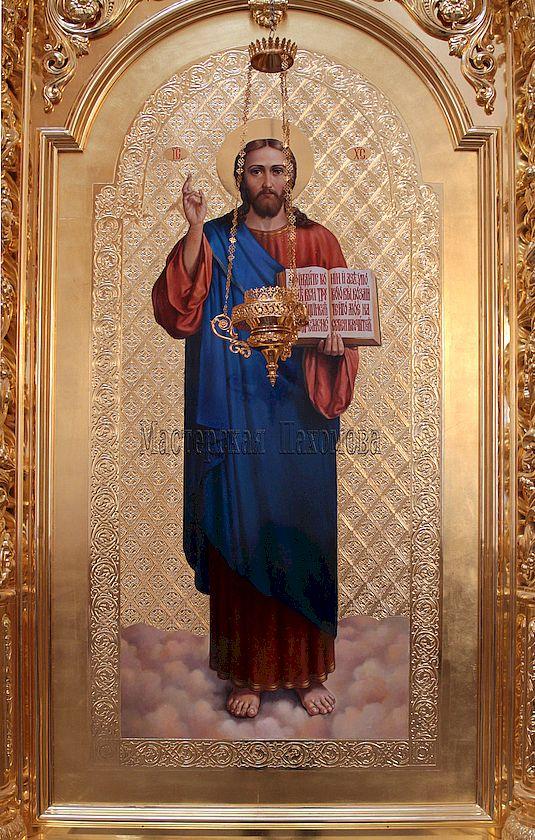Спас Благословляющий. Собор Казанской иконы Божией Матери