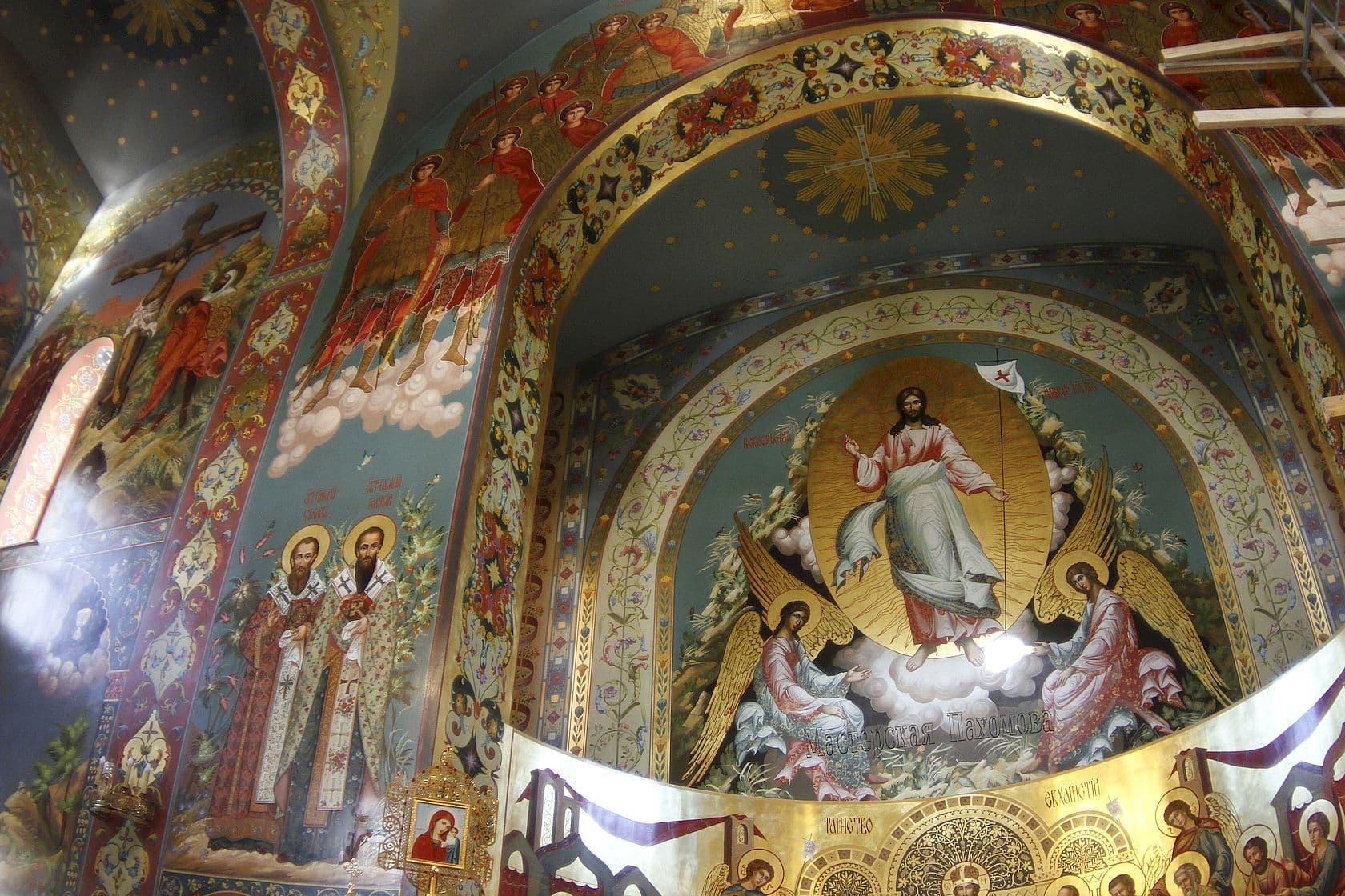 Иконописная Мастерская Пахомова - роспись православных храмов