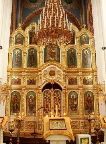 Иконостас Храма Сергия Радонежского, г. Ставрополь