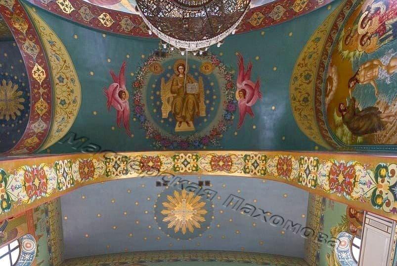 Орнамент в храме, роспись стен. Традиции храмовой росписи
