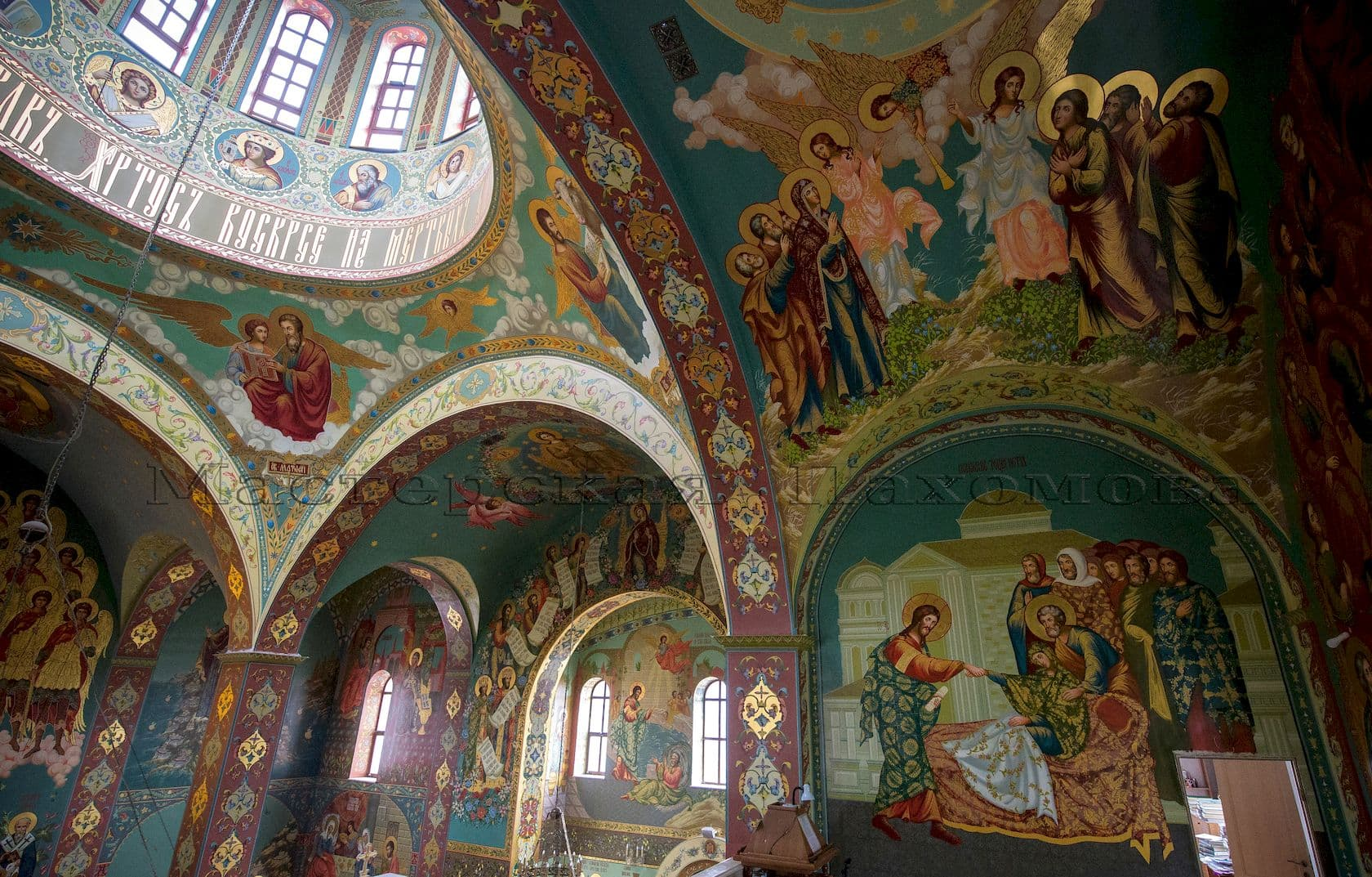 Росписи стен Храма Христа Спасителя в г. Пятигорске