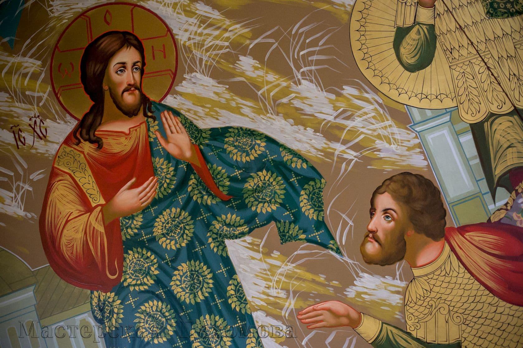 Роспись Спасского кафедрального собора в Пятигорске