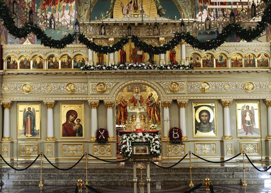 Роспись иконостаса г. Пятигорск
