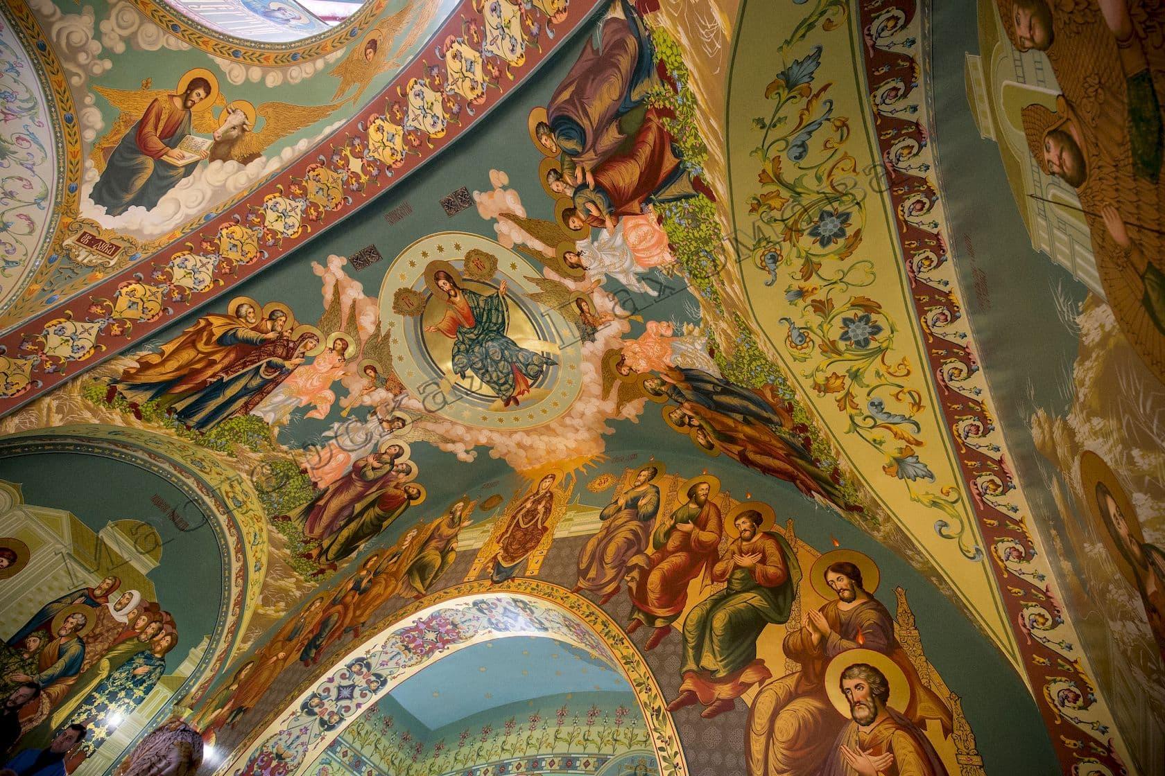 Роспись на хорах во фряжском стиле