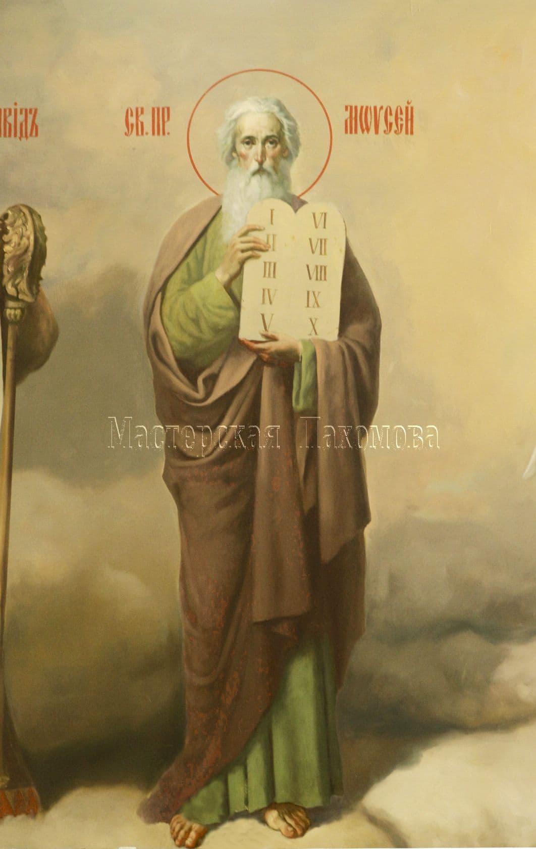 Святой пророк Моисей. Академическая роспись храмов