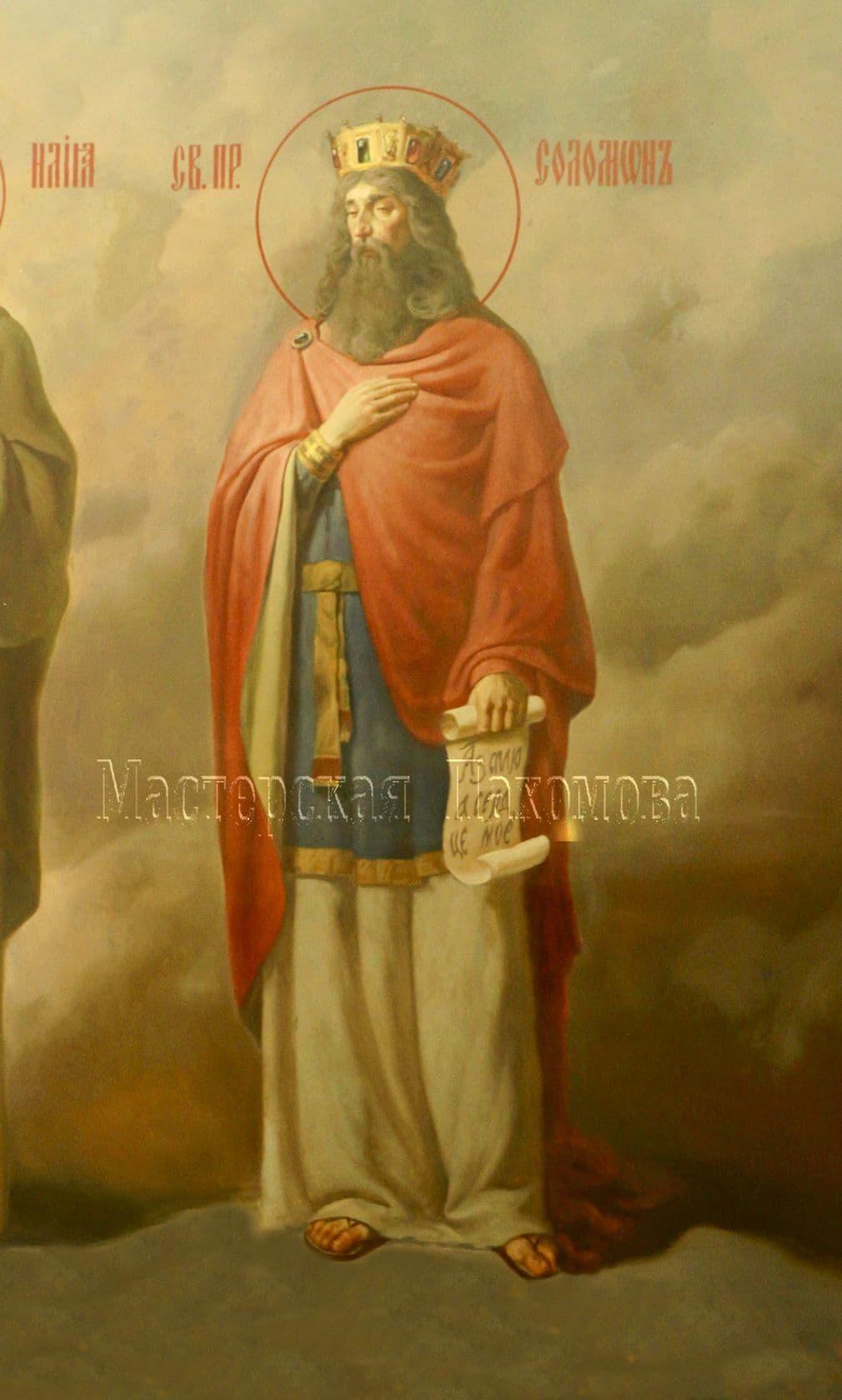 Пророки Соломон. Настенная роспись храма