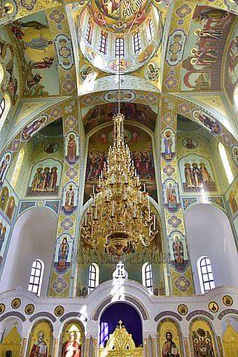 Роспись в Храме Святого равноапостольного Великого князя Владимира г. Ставрополь