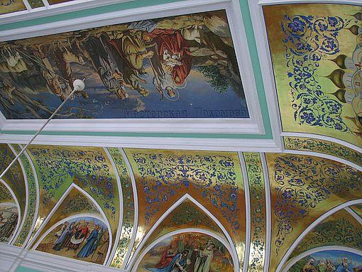 Росписи конференц зала Ставропольской Епархии
