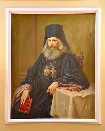 Икона Святителя Игнатия Брянчанинова - авторская работа