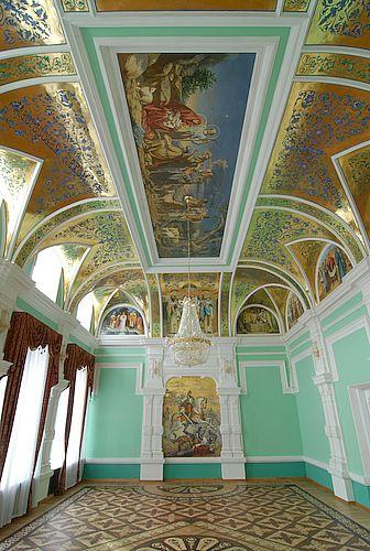 Росписи конференц зала Ставропольской Епархии. Центральная композиция