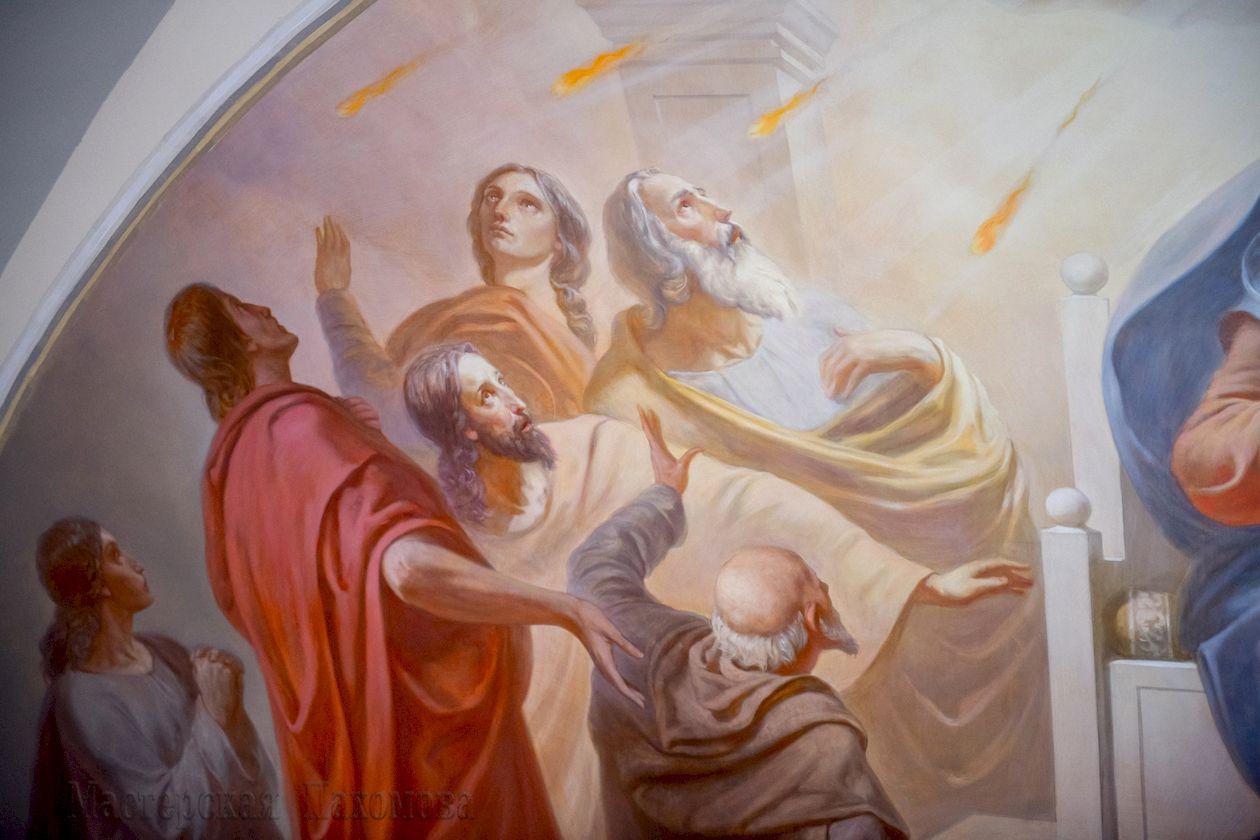 Академическая живопись в воссозданном соборе Казанской иконы Божией Матери