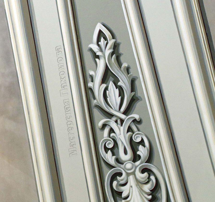 Альфрейный орнамент, гризаль в росписях храмов