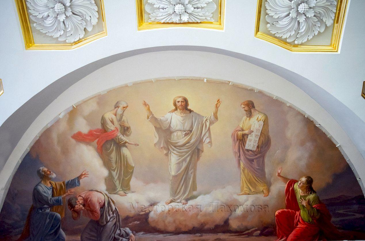 Воссоздание художественного убранства Собора Казанской иконы Божией Матери - Преображение Господне