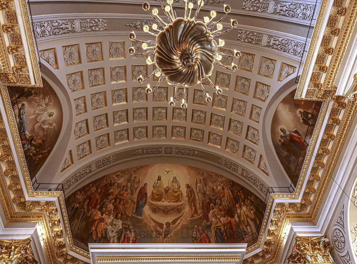 Западная конха Казанского собора - композиция Царство Славы