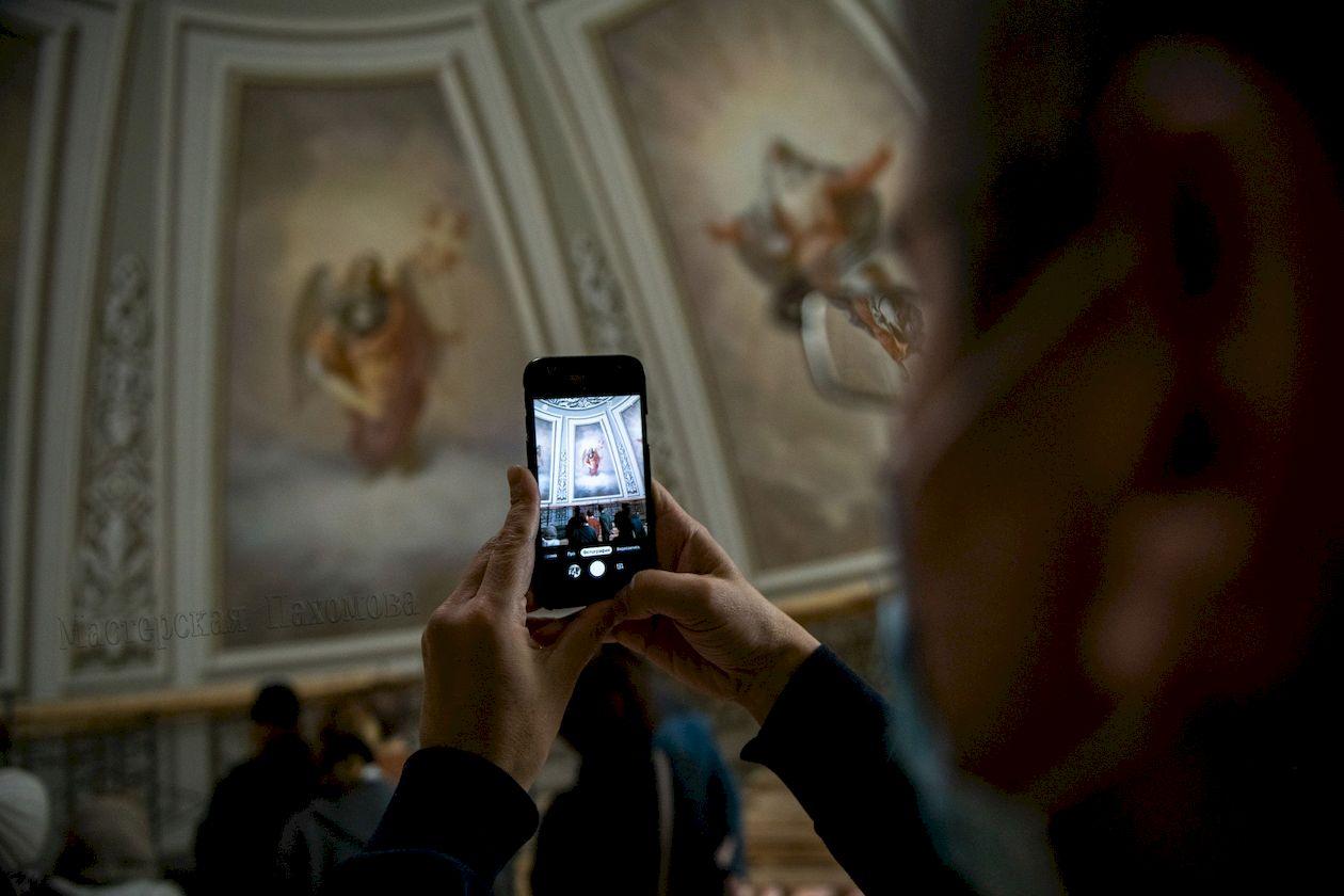 Стенопись Казанского собора выполнила Мастерская Вячеслава Пахомова