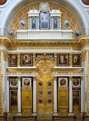 иконостас собора в г. Казань