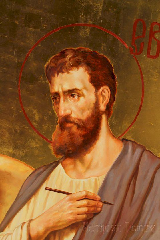 Евангелист Марк. Роспись храма Казанской Божией Матери в Ставрополе