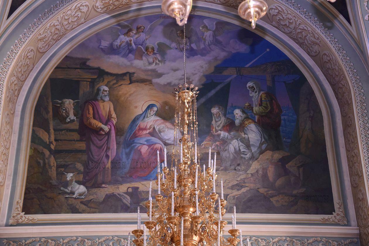 Рождество Христово- роспись собора, стенная роспись, иконопись