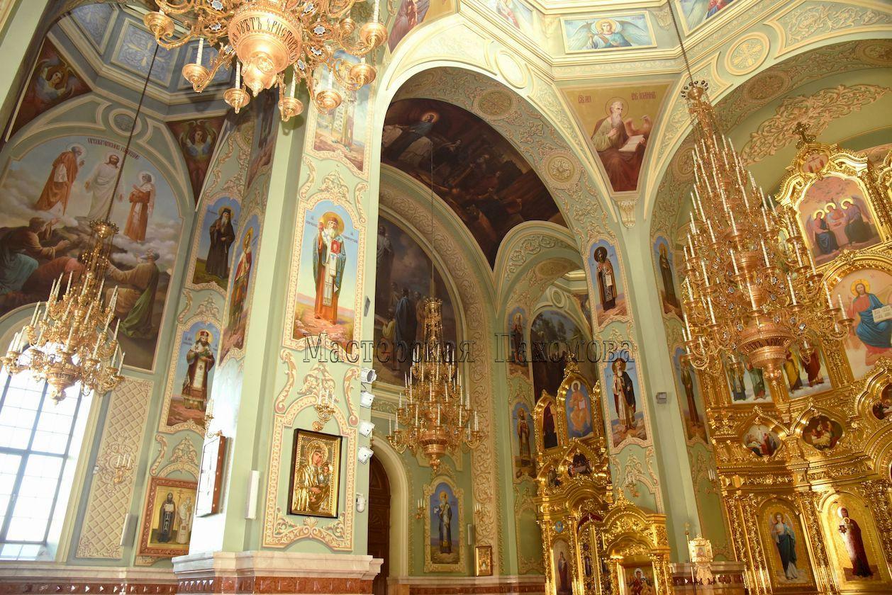 Художественная роспись храмов в академическом стиле. Росписи храмов, соборов, церквей